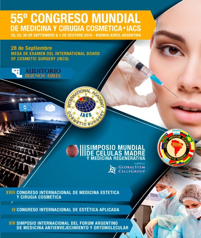 Dr. Edwin Vásquez presente en el 55° Congreso Mundial de Medicina y Cirugía Cosmética - IACS