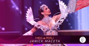 Janick Maceta Del Castillo: Miss Universo Perú 2021