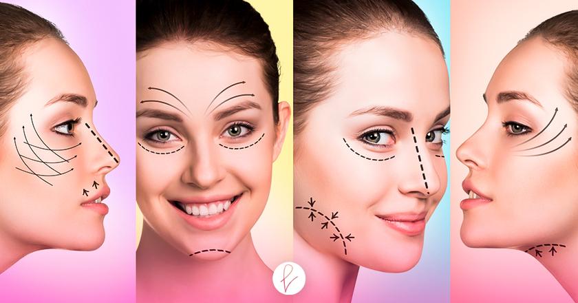 Los tipos de Cirugías Faciales