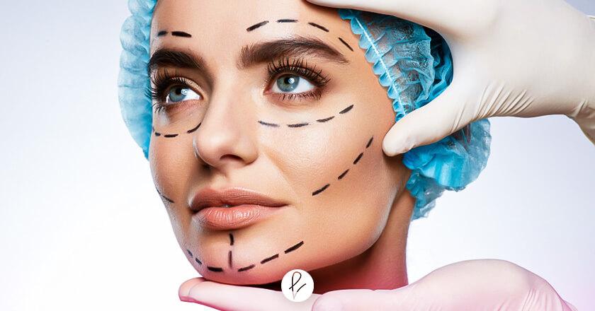Cirugías faciales para obtener una simetría facial