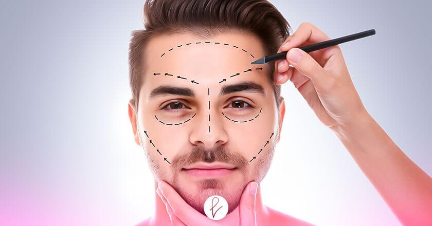 Cirugías faciales para obtener asimetría