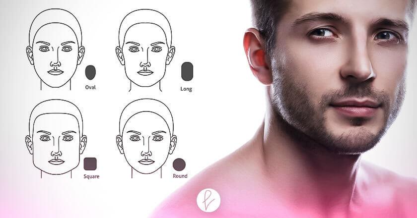 Tipos de rostro masculino que existen