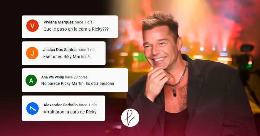 ¿Ricky Martin luce irreconocible?