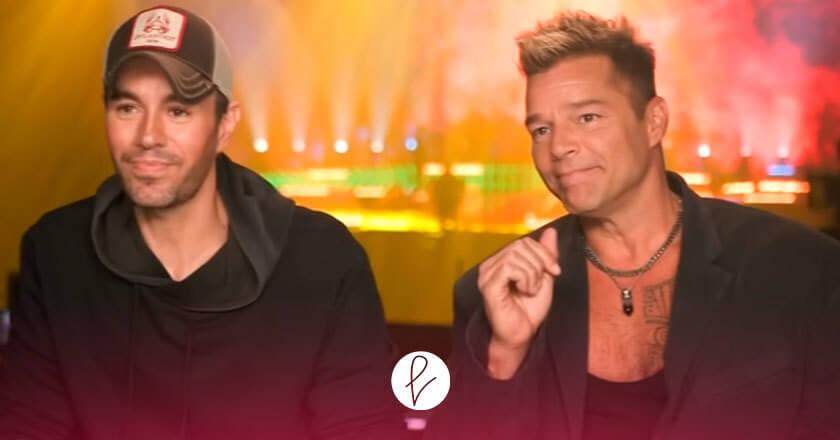 Entrevista Ricky Martin y Enrique Iglesias